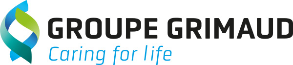 groupe grimaud logo. Blue genetics is the shrimp genetics subsidiary of groupe grimaud
